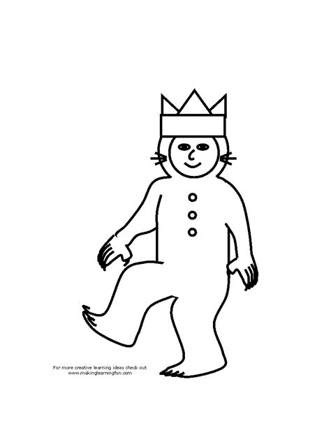 free coloring pages of wild things are