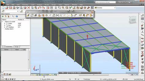 video tutorial robot structural analysis autodesk robot structural analysis steel design doovi