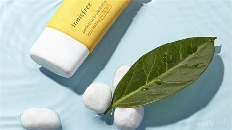 review innisfree perfect uv protection cream triple care