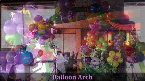 in themed decorations in decoration dreamark events