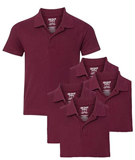 Deal Kaos Polo Gildan Sport Shirt Xs S M L Xl gildan youth school pack of 5 pique polo sport shirts s maroon buy in uae