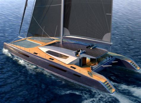 catamaran sailboat builders 34m catamaran comes with a personal plane and launcher