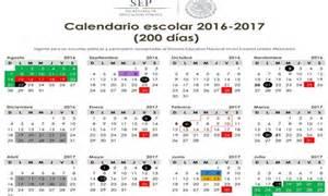 Calendario 2017 Y 2018 Mexico Entran En Vigor Los Calendarios Escolares Para El Ciclo
