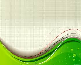 Design free green wave with beautiful background abstract design