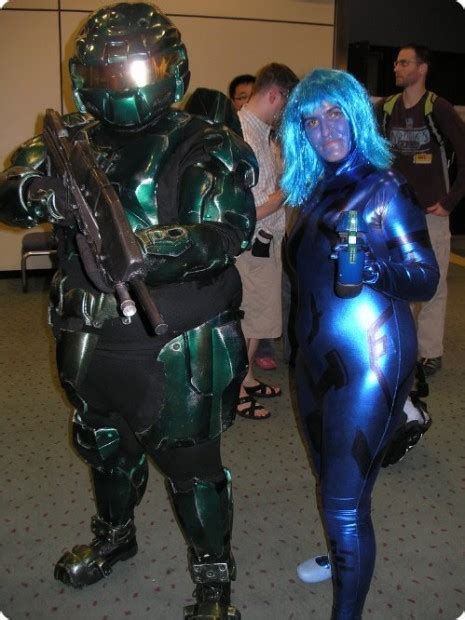 do you wear makeup cortana master chief and cortana the later years cosplay pic