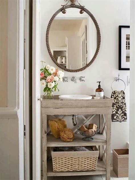 Small Vintage Bathroom Ideas | small bathroom decorating ideas decozilla