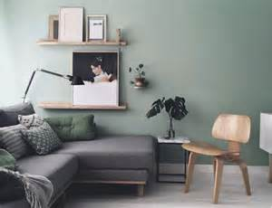 Green Livingroom 30 green and grey living room d 233 cor ideas digsdigs