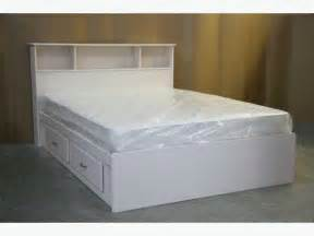 Cheap Bed Frames Ottawa White Size Captains Bed Frame And Headboard Brand
