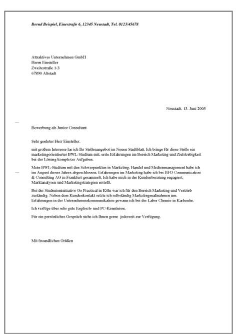 Bewerbung Ferienjob Unterlagen Vorlagen Bewerbungsanschreiben