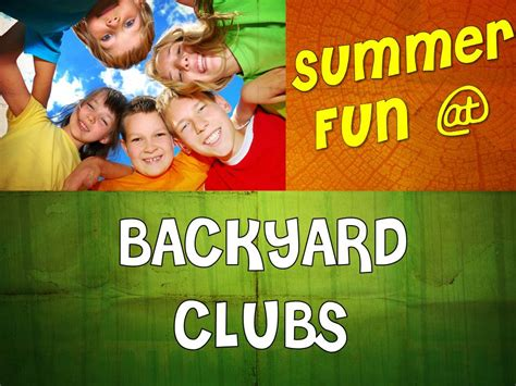 backyard bible club pine city evangelical free church