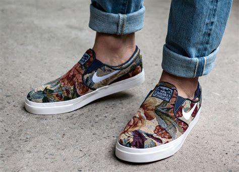 nike sb zoom stefan janoski slip  floral sneaker bar detroit