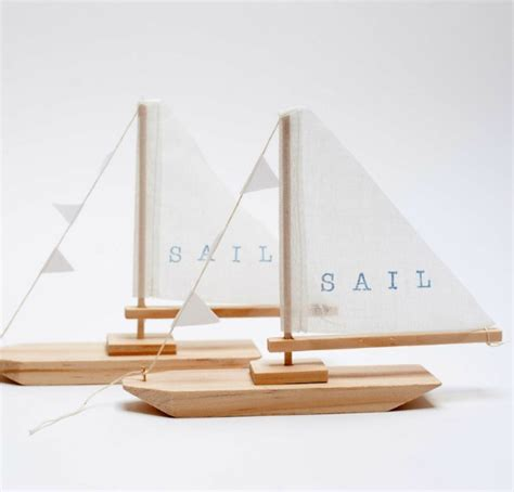 Handmade Sailboat - a world of wooden toys handmade