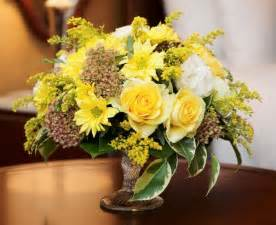 flower centerpieces yellow flower centerpieces and table decoration ideas