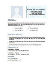 Plantilla De Curriculum Clasico Formato De Curriculum Vitae Cl 225 Sico