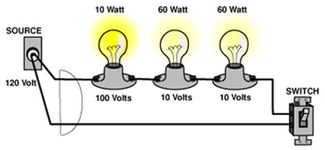 parallel circuits brightness of bulbs fundamentals of electricity series circuits