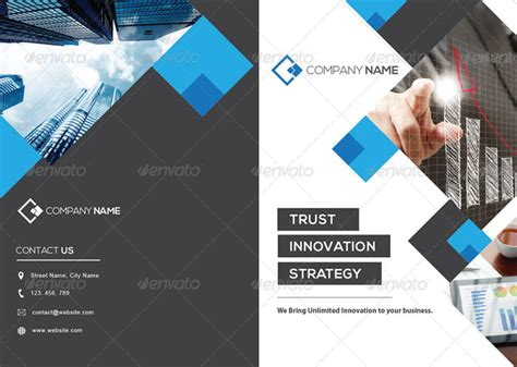 15 corporate brochure design templates