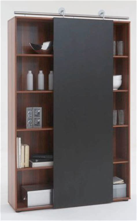 Modern Bookcase With Doors Modern Sliding Door Bookcase Yes Contemporary Bookcases By Furnitureinfashion Net