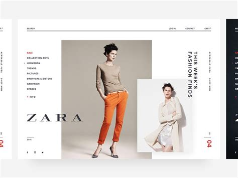 layout of zara 38 best zara design images on pinterest design web