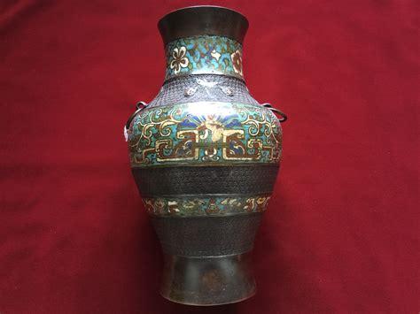 Cloisonne Vase Antique by Antique Cloisonne Vase Elite Collectible