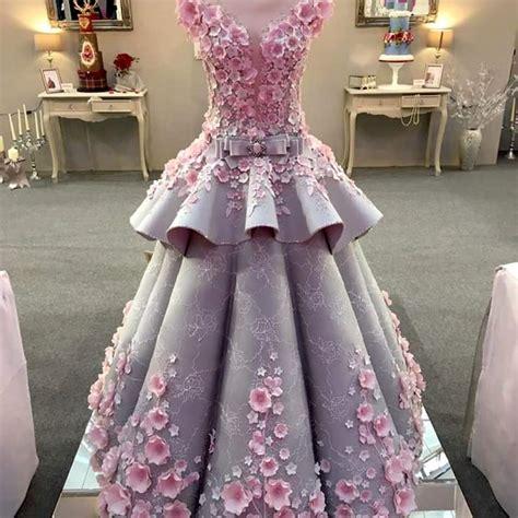 design baju gaun cantik biar betul baju pengantin yang tersergam indah ini adalah