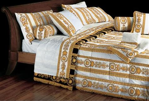 tende versace versace bed set white gold home collection grand