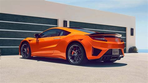 2019 Acura Nsx by 2019 Acura Nsx Is Stiffer Orange 1 500 More Expensive