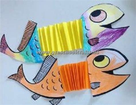 fish craft ideas for accordion fish craft ideas for preschool crafts
