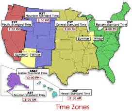 map of time zones in united states us time zone map united states search results calendar