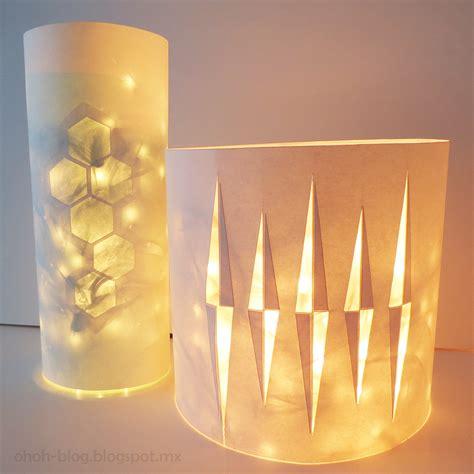 Diy Lantern Lights Lantern With Lights Ohoh