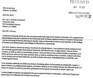scholarship recipient letter 1 the club of auburn