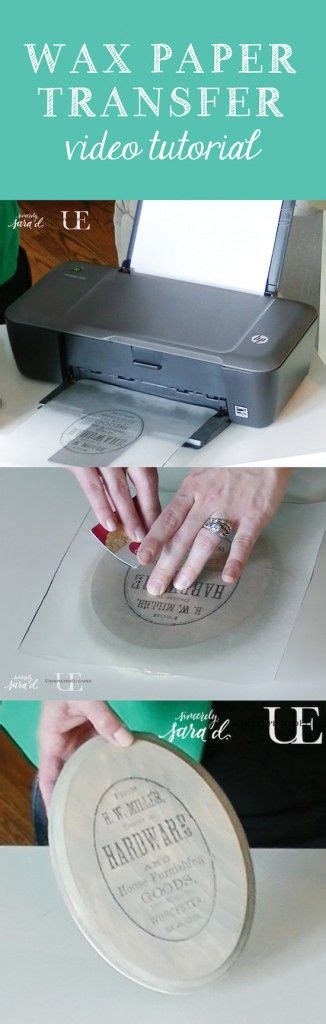 tutorial waxing wax paper image transfer tutorial video how to flip an