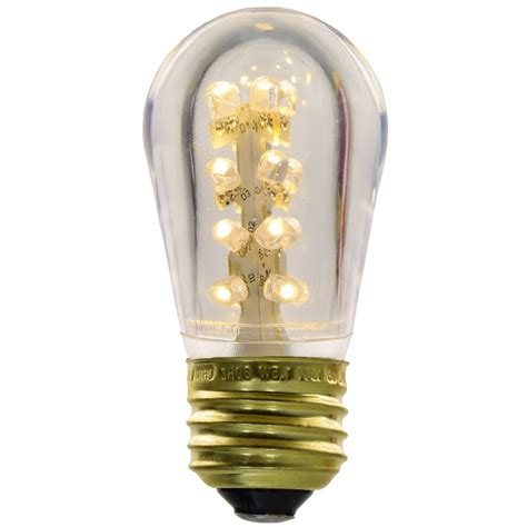 Plastic Light Bulb by S14 Warm White Led Plastic Light Bulb