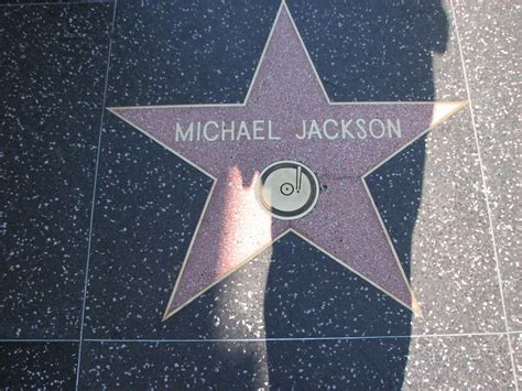 Panoramio - Photo of Michael Jackson's Star, Hollywood ... Hollywood Walk Of Fame Stars Michael Jackson