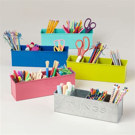 Kids Desk Accessories Desk Organizers The Land Of Nod Kid Desk Accessories