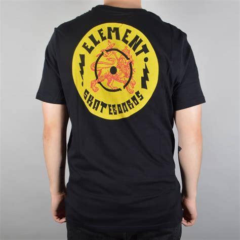 Sweater Element Skate For 2 Zalfa Clothing element skateboards soundsystem skate t shirt black