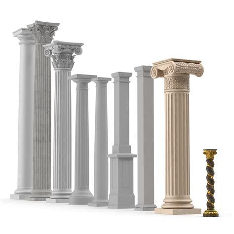 in polistirolo colonna in polistirolo hd con resina effetto pietra