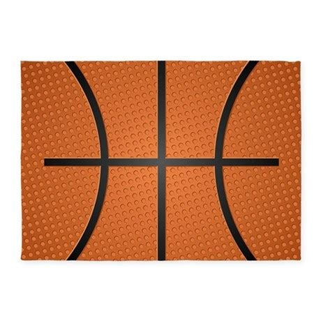 Basketball Area Rug Basketball 5 X7 Area Rug By Admin Cp11748871