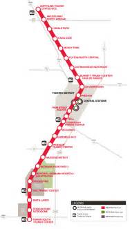 Metro Redline Map by Red Line Map Map2