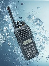 Ht Icom V88 Water Prot ht icom v88 hd compact waterproof professional radio communications indosupplystore