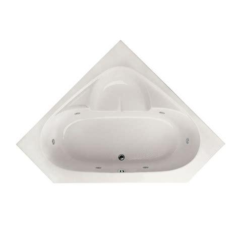 home depot corner bathtub hydro systems studio 5 ft reversible drain corner