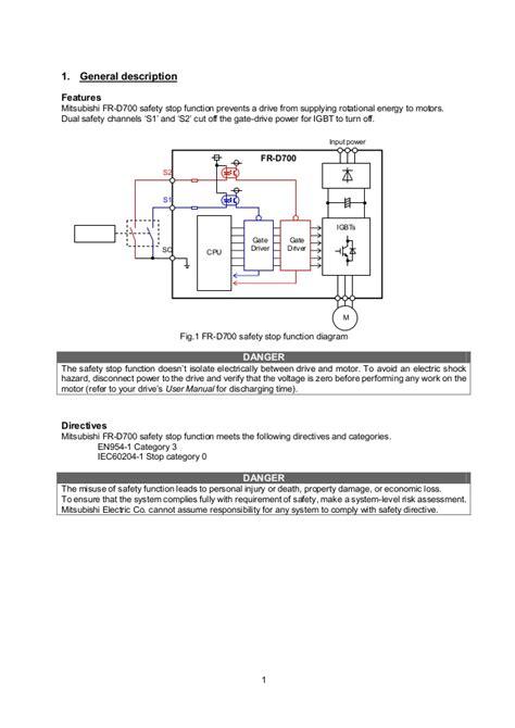mitsubishi inverter wiring diagram wiring diagram