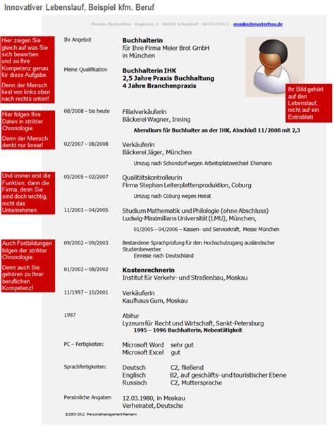 Lebenslauf Beratung Munchen Beispiele Zum Innovativen Lebenslauf Personalmanagement
