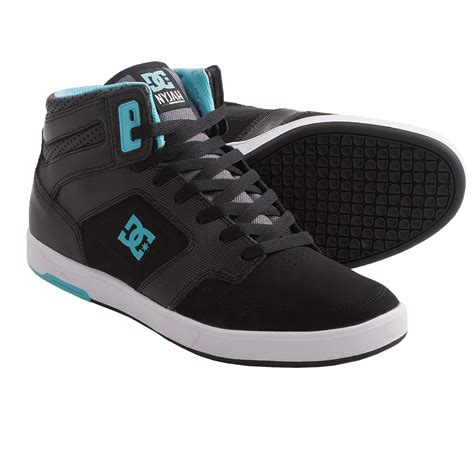 high top sneakers mens dc shoes nyjah high top sneakers for 7749a save 30