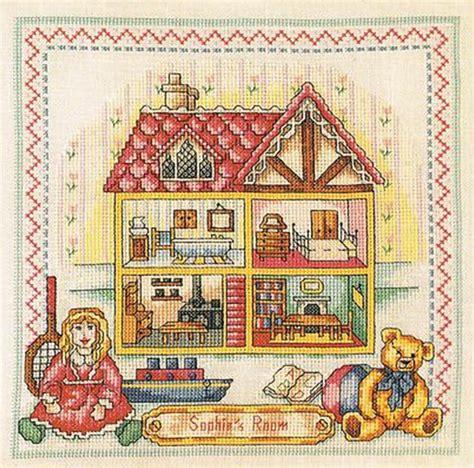 dollhouse november cross stitch dollhouses november 2012