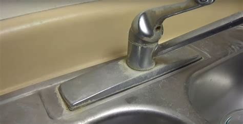 water for kitchen sink how to easily remove water stains on your kitchen