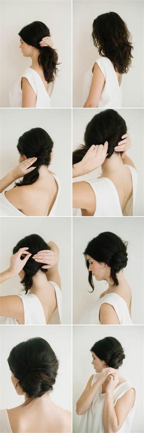 Coiffure Femme Cheveux Mi by Une Coiffure Simple Et Rapide 56 Variantes En Photos Et