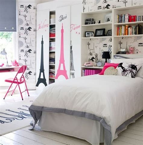 20 stylish teenage girls bedroom ideas girl bedroom paris wallpaper