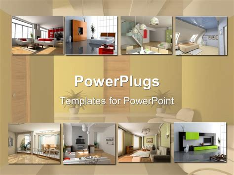 kitchen templates for powerpoint powerpoint template interior design apartment modules