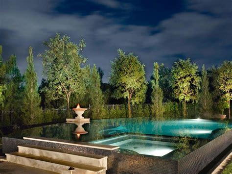 landscape lighting zero pool lighting tips hgtv