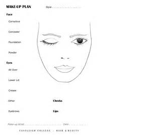 Blank Makeup Template by Best Photos Of Eye Makeup Design Template Eye Makeup
